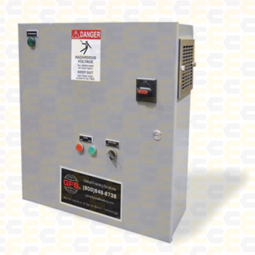 Control Panel, Standard Booth, 10 Hp, 460V, 3 PH,3 Wire, 6LT